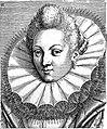 "Portrait from ""Variae comarum et bararum formae"", P. Galle Wellcome L0019802.jpg"