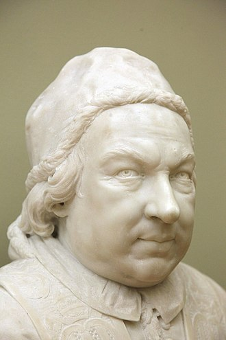 Pietro Bracci - Pope Benedict XIV Museum of Grenoble.