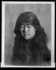Portrait of Japanese-Hawaiian girl 1909, Library of Congress.jpg