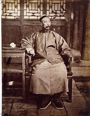 Photography in China - Portrait of Li Hongzhang, 1871