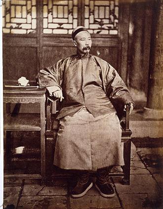 Li Hongzhang - Portrait of Li Hongzhang, 1871