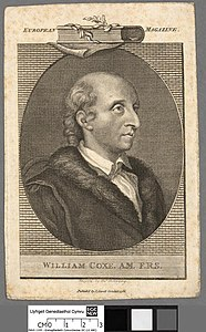 Portrait of William Coxe. A.M. F.R.S (4672824).jpg