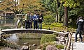 Posing in front of Kotojitoro, the most famous stone lantern of Japan (2443669841).jpg