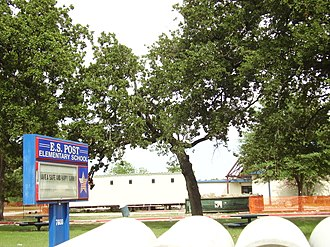 Cypress-Fairbanks Independent School District - E. S. Post Elementary School (Under construction)