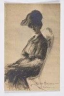 Postcard-with-portrait-of-Louise-M.-Eates by-Glenn-Hinshaw 1906.jpg
