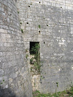 Postern - Postern in the rampart of Provins, Seine-et-Marne, France
