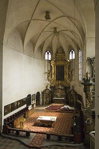 All Saints Church (Prague Castle) - Interior