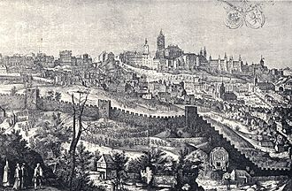 Prague Castle - Prague Castle in 1607