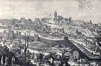 Prague Castle - Prague Castle in 1607
