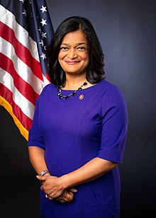 Pramila Jayapal, official portrait, 116th Congress.jpg