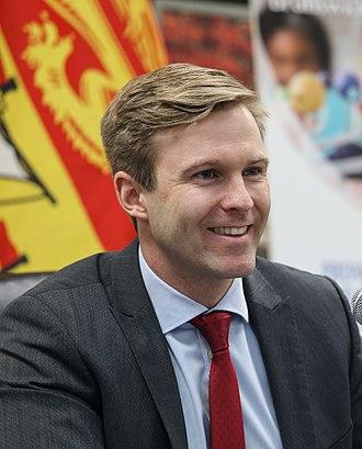 Brian Gallant - Image: Premier Brian Gallant