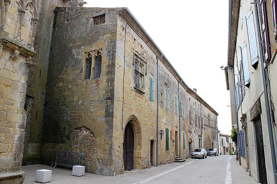 Presbytère de Saint-Félix-Lauragais, XVème siècle, inscrit aux monuments historiques