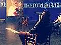 """Presentazione del Film """"EXITUS"""" Alessandro Bencivenga a """"Cinematografo"""" di Gigi Marzullo in onda su Rai Uno, 2019 .jpg"""