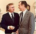 President George H. W. Bush and Congressman Bill Young.jpg