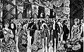 President Grover Cleveland's inaugural ball, Washington DC 1885.jpg