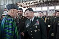 President Hamid Karzai attends National Military Academy graduation (4442396011).jpg