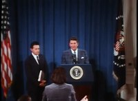 File:President Reagan's Announcement of the United States Strategic Weapons Program on October 2, 1981.webm