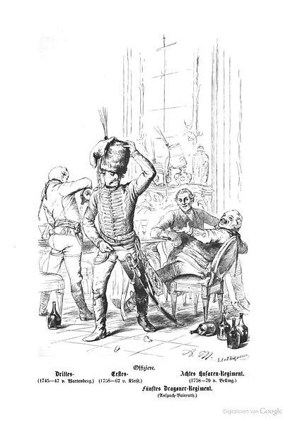File:Preußische Husaren beim Gelage.jpg