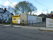 Primera Iglesia Bautista Hispana in Jamaica Plain, Boston; south and east sides.JPG