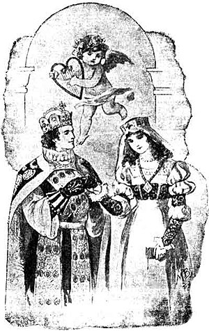 The Golden Legend (cantata) - The Prince and Elsie – illustration to Longfellow's poem