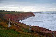 Prince edward island cavendish red cliffs