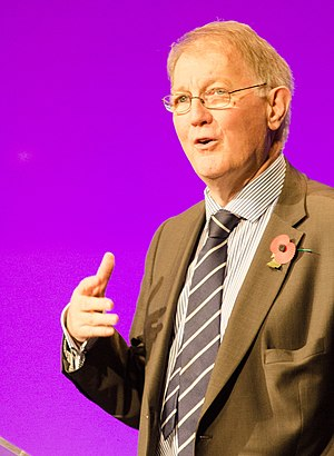 Michael Adrian Richards - Sir Michael Richards speaking at the NCRI National Cancer Conference in 2014.