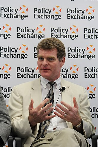 Allan Bradley - Allan Bradley at the launch of the Shakespeare review, organised by Policy Exchange