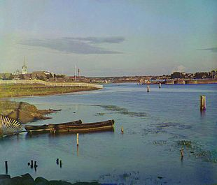 Сязьские рядки рыбачье поселение 1909