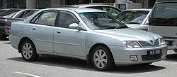 A pre-facelifted Proton Waja.
