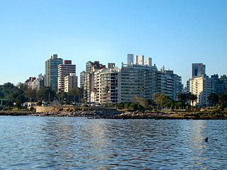 Punta Carretas Barrio in Montevideo Department, Uruguay