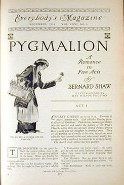 Pygmalion serialized November 1914.jpg