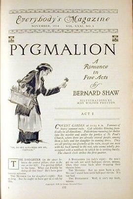 Pygmalion serialized November 1914