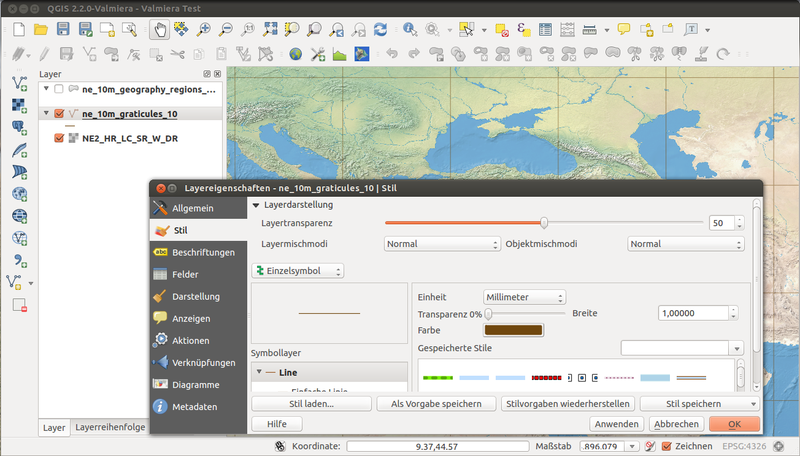 File:QGIS 2.2 Valmiera showing new menu design.png