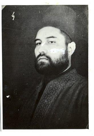Bahadur Yar Jung - An undated portrait of Bahadur Yar Jung