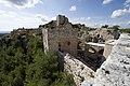 Qal'at Salah ed-Din aka Sahyun Castle view west from south wall 4108.jpg