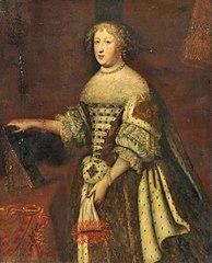 王妃マリー・テレーズ1663年頃