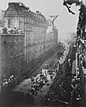 Queen Victoria's carriage in procession in Northumberland Avenue, June 21 1887.jpg