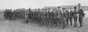 Quintinshill rail disaster - The roll call of the survivors of 1/7th Royal Scots after the accident