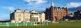 The Royal and Ancient Golf Club of St Andrews - Image: R&A and Hamilton Hall