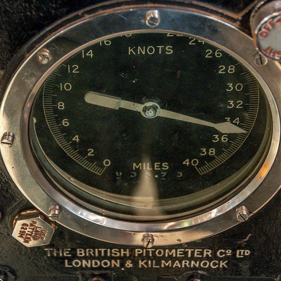 RAN Heritage Centre Speed Indicator