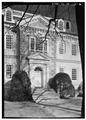 REAR ENTRANCE, WEST ELEVATION - Mount Pleasant, East Fairmount Park, Philadelphia, Philadelphia County, PA HABS PA,51-PHILA,15-17.tif