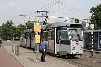 Trams in Rotterdam - The ZGT-series tram, used until 2014