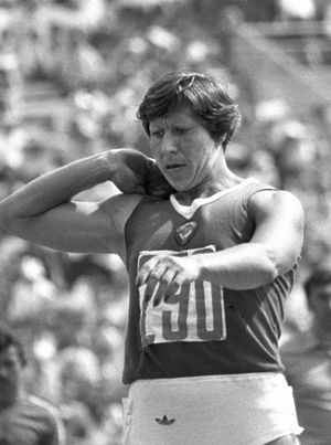 Nadezhda Tkachenko - Tkachenko at the Moscow Olympics, 1980