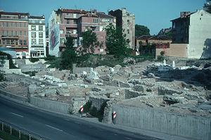 Odeon of Philippopolis - Image: RUINS OF THE ROMAN FORUM, PLOVDIV