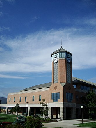 Roger Williams University - Image: RWU University Library Clock Tower