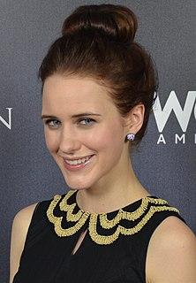 Rachel Brosnahan American actress (born 1990)