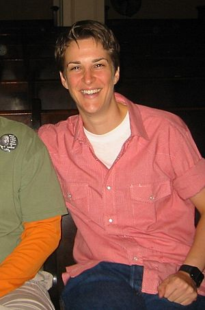English: American radio host Rachel Maddow.