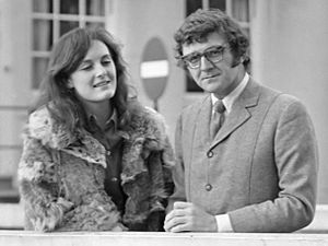 Rachel Billington - Rachel and Kevin Billington in 1968