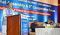 Radha Mohan Singh addressing the conference related to the 12th International Cooperative Alliance – Asia, Pacific Regional Assembly and 9th Cooperative Forum, in New Delhi.jpg