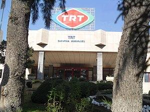 Radyo Çukurova - TRT Radio Çukurova building in Mersin Turkey